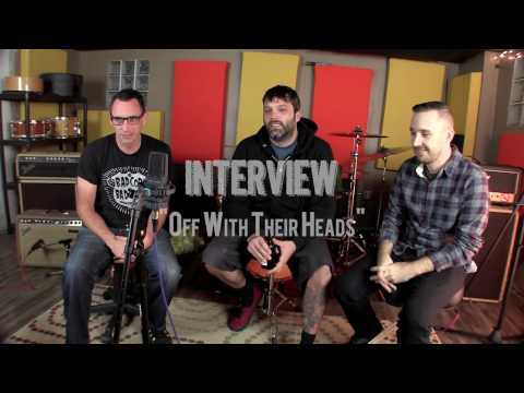 "Off With Their Heads -""Interview"" Live! from The Rock Room"