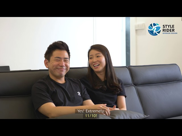Stylerider - Homeowners Testimonial for Monochrome design home