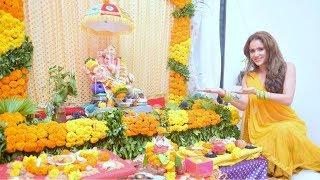 Model & Actress Shweta Khanduri Ganesh Chaturthi Celebration