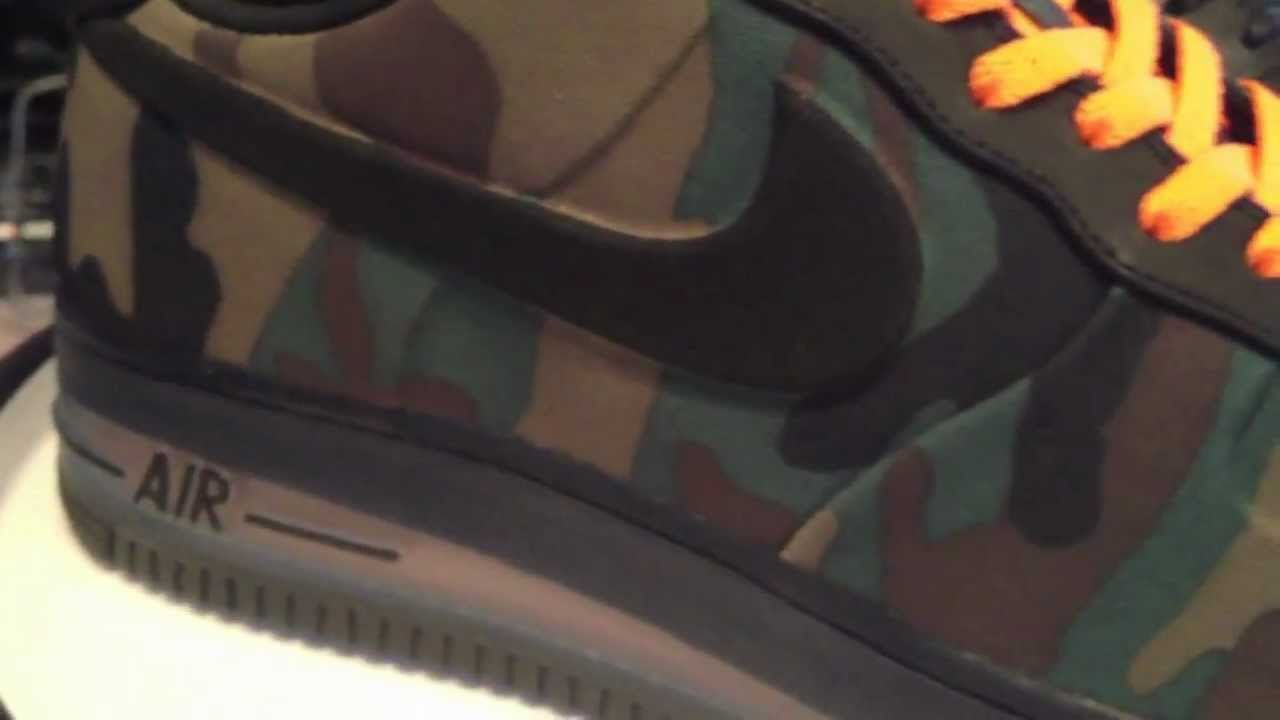 Check out Army Look Nike Air Force 1 Max Air VT Camo