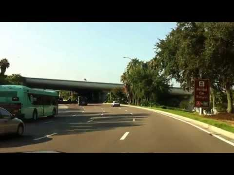 Orlando International Airport - Arrival by car