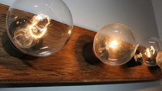How To Easily Upgrade An Old Vanity Light  - DIY Home Tutorial - Guidecentral