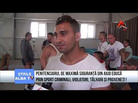 Penitenciarul de Maxima Siguranta Aiud educa prin sport criminali, violatori si proxeneti!