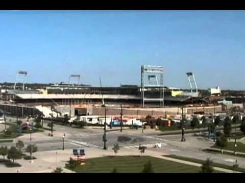 TD Ameritrade Park Omaha - time lapse of construction
