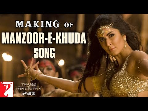 Making of Manzoor-e-Khuda | Thugs Of Hindostan | Aamir, Katr