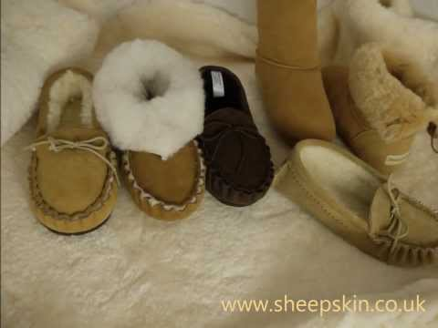 Sheepskin Slippers And Boots By Sheepland