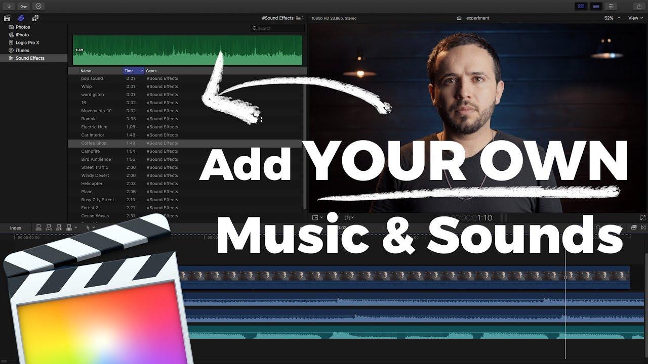 final cut pro x sound effects free download