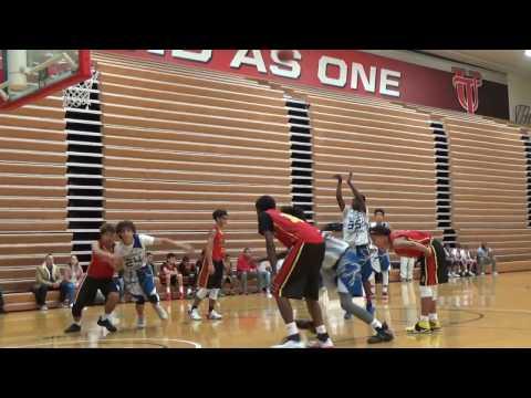 8th Grade Temple Terrace Thunder vs Kissimmee Allstars AAU Suncoast Sportsfest Playoffs 1-29-17