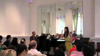 With One Look from Sunset Boulevard sung by Evelyn Kauw from Intune Music School
