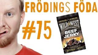 Frödings Föda #75: Wild West Peppered Beef Jerky
