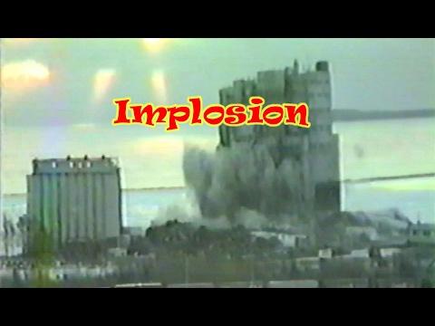 Elevator Implosion Thunder Bay Ontario 2000