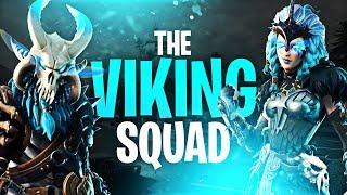 THE VIKING SQUAD!! (ft. Dakotaz, DrLupo & Actjaxon) | Fortnite Battle Royale Highlights #137