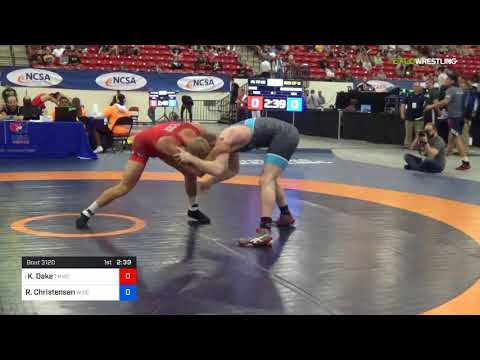 2018 Marine Corps US Open/Senior Men's Freestyle 79 Rnd Of 16 - Kyle Dake (TMWC) Vs. Ryan Christen