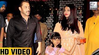 Salman Khan And Aishwarya Rai Clashed At Mukesh Ambani's Ganpati Celebrations | LehrenTV