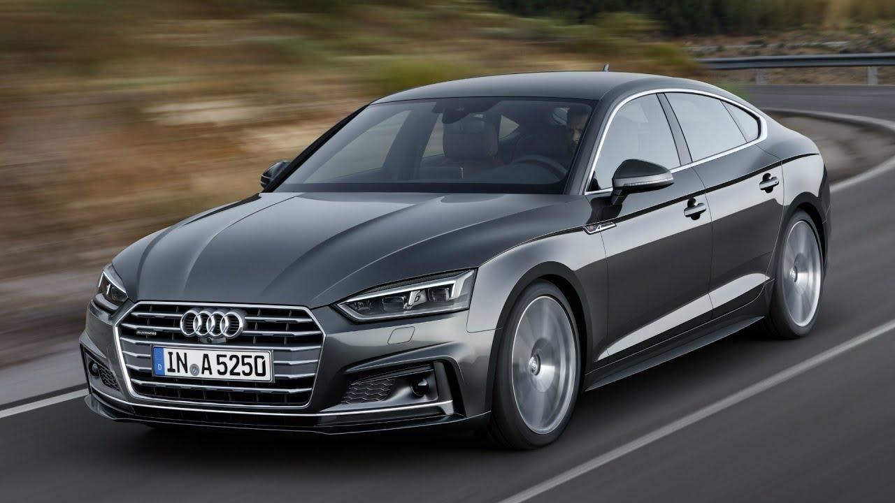 2017 Audi A5 Sportback Daytona Grey Drive Interior And Exterior