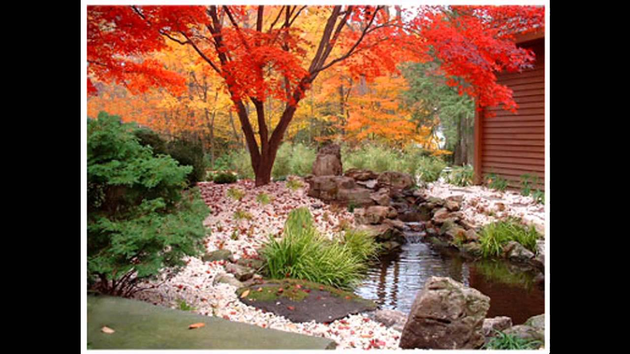 Japanese Style Garden Decorations Ideas   YouTube Part 45