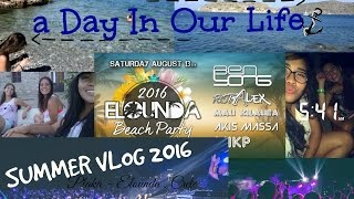 A Day In Our Life | Summer Vlog | Elounda Beach Party 2016(Hello - Γέέέιια ! this week's video shows one of the most unforgettable days of our 2016 summer :D August 13 , 2016 A day in Plaka swimming and hanging out ..., 2016-08-23T15:42:23.000Z)