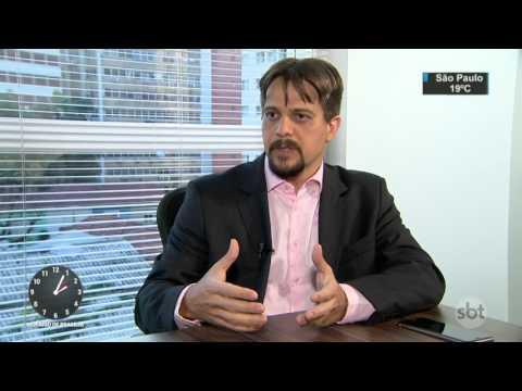 Milionários não conquistaram fortuna no mercado financeiro - SBT Notícias (25/04/17)
