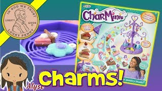 CharMinis Deluxe Jewelry Studio - Endless Charm Minis Possibilities - Daddy & Daughter Crafting!
