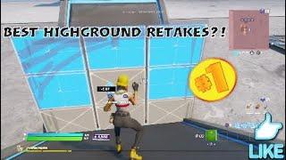 Three EASY Highground Retakes That Are Useful! (fortnite)