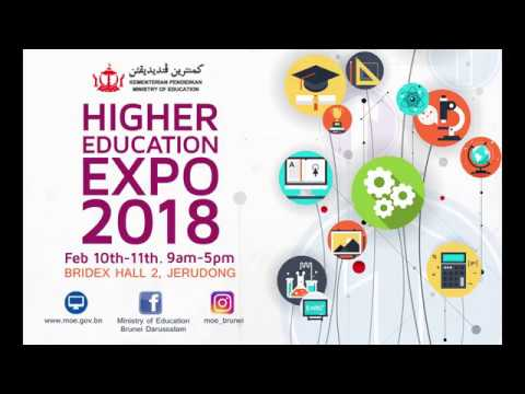 BRUNEI HIGHER EDUCATION EXPO 2018