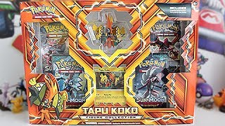 Opening A Tapu Koko Figure Collection Box!!!