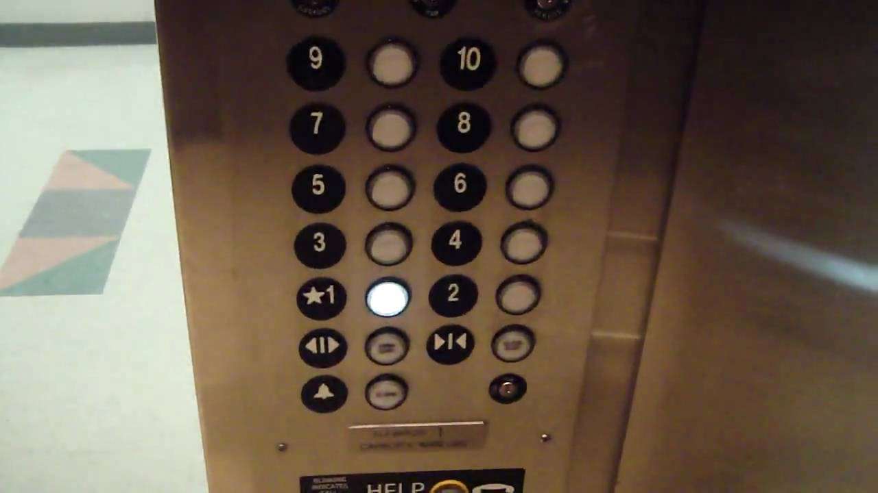 Thyssenkrupp Elevator Buttons