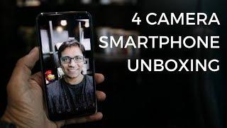 The Honor 9i Unboxing - 4 Cameras / 18:9 Display - PhoneRadar