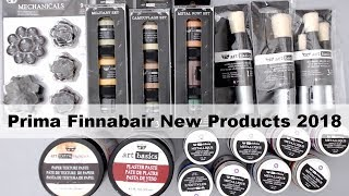 New Finnabair Products 2018 by Prima Marketing