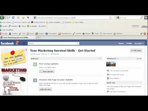 how to change a facebook page to your main page
