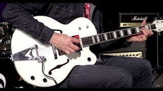 Gretsch G7593T-BD Billy Duffy White Falcon  •  SN: JT16093276