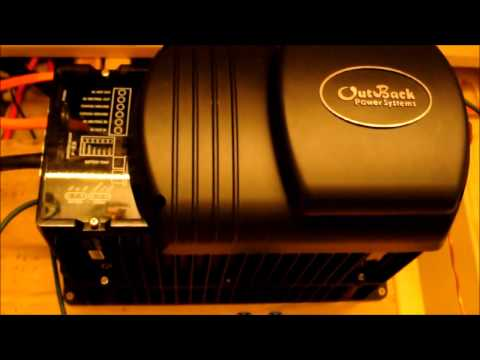 Off-grid solar powered cabin update - Outback Power Systems
