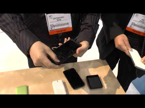 CES 2013: Wireless Charger For Galaxy Note 2 & Galaxy S3