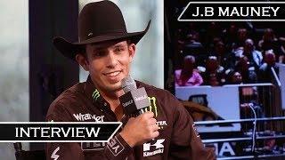 J.B. MAUNEY (Bull Rider) talks World Championships and his Career | Interview Jan 15, 2016