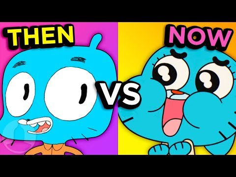 The Evolution of Amazing World of Gumball    Channel Frederator