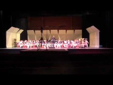 Maplewood Middle School 2012 state song 3