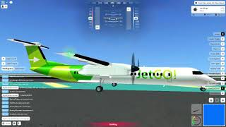 Roblox Acceleration Flight Simulator Landing and Takeoff Gameplay