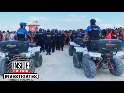 The Woody Show - Spring Break Mayhem Attracts Extra Law Enforcement in Miami Beach