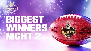 Biggest Winners From Night 2 of the 2020 NFL Draft