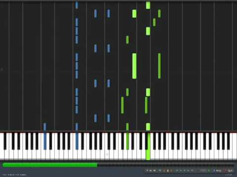 ROOKiEZ is PUNKD  Complication Played On Synthesia Piano