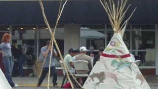 Native Drums at Billings Strawberry Festival