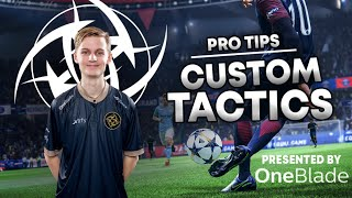 MY SECRET CUSTOM TACTICS for FIFA 20