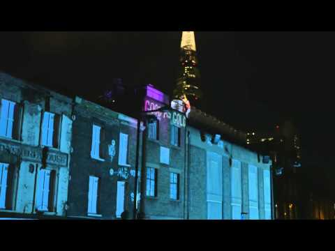 Nokia & deadmau5 'This is Lumia' light show in London - Official Video - NOKIA UK