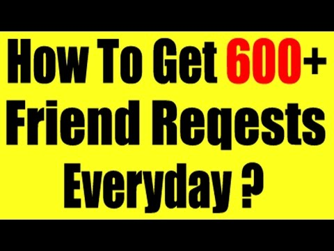 How to get more Friend request on Facebook  Auto Friend Request