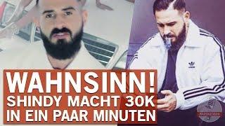 Shindy macht in nur wenigen Minuten über 30.000 Euro Umsatz!