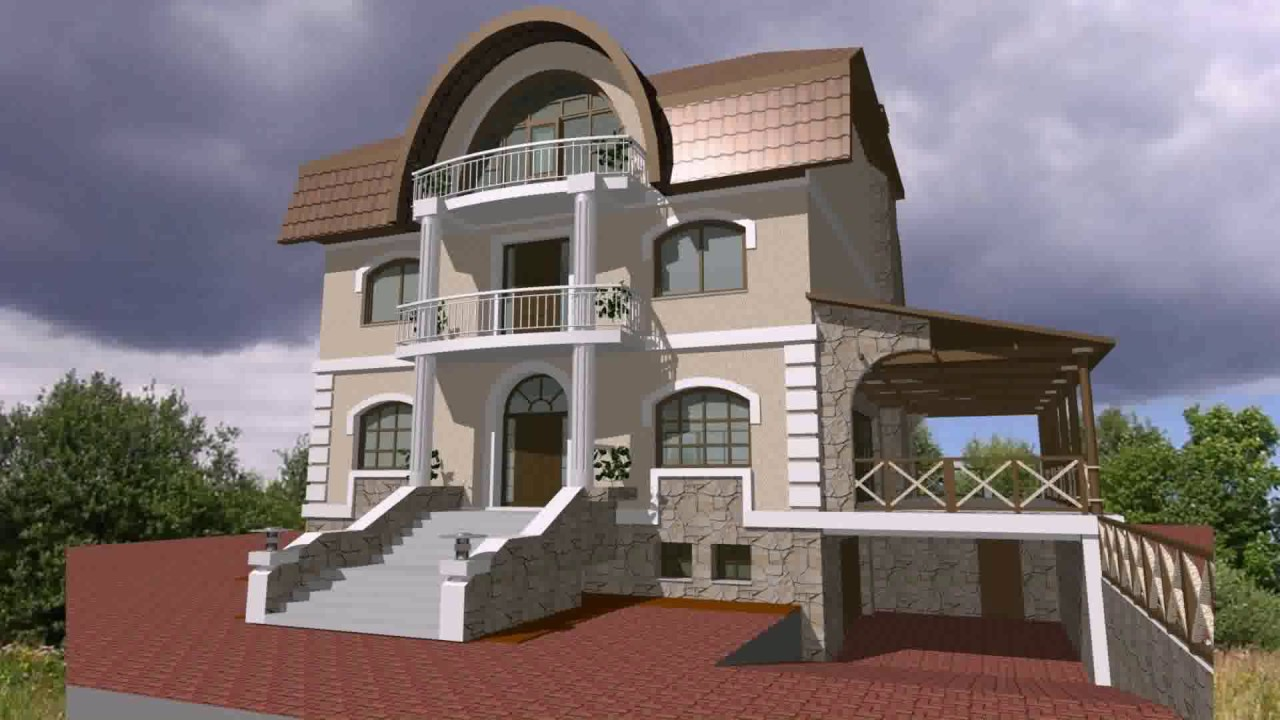 Indian House Exterior Wall Design Ideas YouTube - House exterior wall design
