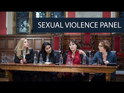 Sexual Violence Panel | Oxford Union