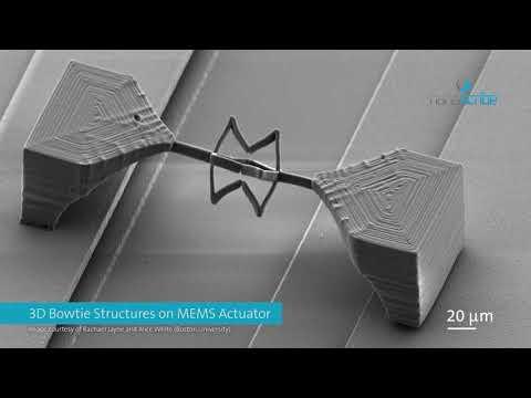0 - 3D-Druck auf Mikrochips für photonische Systeme und MEMS