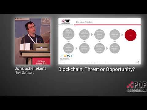 Blockchain and Distributed Ledger Technology for documents - Joris Schellekens