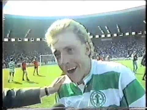 Celtic cup build up and celebrations 1988 STV